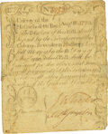 Colonial Notes:Massachusetts, Massachusetts Bay August 18, 1775 17 Shillings Fr. MA-169. PCGSVery Fine 25 Apparent.. ...