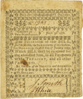 Colonial Notes:New Hampshire, New Hampshire July 3, 1776 $6 Fr. NH-176. PCGS Extremely Fine 45 Apparent.. ...