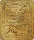 Colonial Notes:Pennsylvania, Pennsylvania October 1, 1756 15 Shillings Fr. PA-79. PCGS Very Fine25 Apparent.. ...