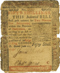 Colonial Notes:Pennsylvania, Pennsylvania June 21, 1759 50 Shillings Fr. PA-103. PCGS Fine 12Apparent.. ...