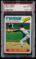 Baseball Cards:Singles (1970-Now), 1977 Topps Rod Carew #120 PSA Gem Mint 10....