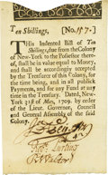 Colonial Notes:New York, Colony of New York May 31, 1709 10 Shillings Fr. NY-2. PCGSExtremely Fine 45 Apparent.. ...