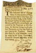 Colonial Notes:New York, Colony of New York November 1, 1709 Lyons Dollars Issue 20 LyonDollars (13 Oz., 15 Dws.) Fr. NY-12. PCGS Choice About New 55....