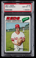 Baseball Cards:Singles (1970-Now), 1977 Topps Fred Norman #139 PSA Gem Mint 10....