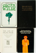 Books:Biography & Memoir, [Oscar Wilde]. Group of Four Biographies. Various publishers anddates. ... (Total: 4 Items)