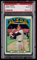Baseball Cards:Singles (1970-Now), 1972 Topps Larry Stahl #782 PSA Gem Mint 10 - Pop Two. ...
