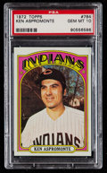 Baseball Cards:Singles (1970-Now), 1972 Topps Ken Aspromonte #784 PSA Gem Mint 10 - Pop Three....