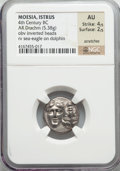 Ancients:Greek, Ancients: MOESIA. Istrus. Ca. 400-300 BC. AR drachm (5.38 gm)....
