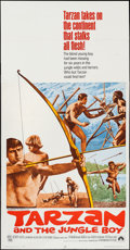 """Movie Posters:Adventure, Tarzan and the Jungle Boy & Others Lot (Paramount, 1968). ThreeSheets (3) (41"""" X 78"""", 41"""" X 79""""). Adventure.. ... (Total: 3 Items)"""