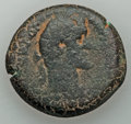 Ancients:Roman Provincial , Ancients: EGYPT. Alexandria. Lot of two imperial (AD 117-1) AEdrachms (19.26, 20.13 gm).... (Total: 2 coins)
