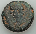 Ancients:Roman Provincial , Ancients: EGYPT. Alexandria. Antoninus Pius (AD 138-161). AE drachm(26.38 gm)....