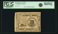 Colonial Notes:Continental Congress Issues, Continental Currency February 17, 1776 $1 Fr. CC-23. PCGS ChoiceAbout New 58PPQ.. ...