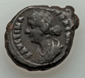 Ancients:Roman Provincial , Ancients: EGYPT. Alexandria. Faustina II (AD 147-175). BILtetradrachm (14.48 gm)....