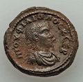 Ancients:Roman Provincial , Ancients: EGYPT. Alexandria. Philip II as Caesar (AD 244-247). BILtetradrachm (11.70 gm)....
