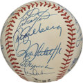 Autographs:Baseballs, 1987 Chicago Cubs Team Signed Baseball. In 1987 the Chicago Cubswere perennial losers in spite of boasting many stars and ...