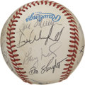 Autographs:Baseballs, 1988 New York Yankees Team Signed Baseball. The 1988 New York Yankees did not have a typical year, in other words, they fin...