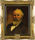 """Political:3D & Other Display (1896-present), Rutherford Hayes and Lucy Hayes Oil Portraits by Lawrence Williams. Each oil portrait is 16"""" x 20"""" and framed in gilt to an ... (Total: 2 Item)"""