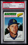 Baseball Cards:Singles (1970-Now), 1977 Topps Tommy Smith #14 PSA Gem Mint 10 - Pop Two....