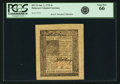 Colonial Notes:Delaware, Colony of Delaware January 1, 1776 4 Shillings Fr. DE-76. PCGS GemNew 66.. ...