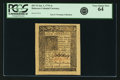 Colonial Notes:Delaware, Colony of Delaware January 1, 1776 4 Shillings Fr. DE-76. PCGS VeryChoice New 64.. ...