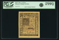 Colonial Notes:Delaware, Colony of Delaware January 1, 1776 5 Shillings Fr. DE-77. PCGS Superb Gem New 67PPQ.. ...