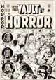 Johnny Craig Vault of Horror #28 Zombie Cover Original Art (EC, 1952)