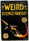 Golden Age (1938-1955):Science Fiction, Weird Science-Fantasy Annual #2 (EC, 1953) Condition: GD....