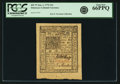 Colonial Notes:Delaware, Colony of Delaware January 1, 1776 10 Shillings Fr. DE-79. PCGS GemNew 66PPQ.. ...