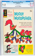 Bronze Age (1970-1979):Cartoon Character, Woody Woodpecker #122 File Copy (Gold Key, 1972) CGC NM/MT 9.8Off-white to white pages....