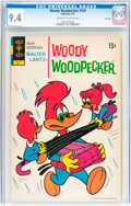 Bronze Age (1970-1979):Cartoon Character, Woody Woodpecker #124 File Copy (Gold Key, 1972) CGC NM 9.4Off-white to white pages....