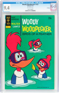 Bronze Age (1970-1979):Cartoon Character, Woody Woodpecker #131 File Copy (Gold Key, 1973) CGC NM 9.4Off-white pages....