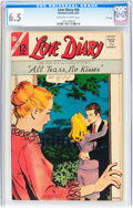 Silver Age (1956-1969):Romance, Love Diary #50 File Copy (Charlton, 1967) CGC FN+ 6.5 Off-white to white pages....