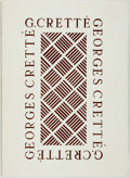 Books:Fine Press & Book Arts, [Book Arts]. Marcel Garrigou. LIMITED EDITION. Georges Cretté.Les Maîtres de la Reliure. [Paris:] Arts et Formes, 1...