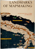 Books:Maps & Atlases, [Maps]. Charles Bricker. Landmarks of Mapmaking. An Illustrated Survey of Maps and Mapmakers. New York: Thomas Y. Cr...