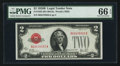 Small Size:Legal Tender Notes, Fr. 1503 $2 1928B Legal Tender Note. PMG Gem Uncirculated 66 EPQ.. ...