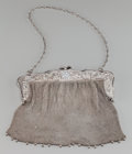 Silver Holloware, Chinese Export, A Chinese Export Silver Purse, circa 1880. 8 inches high (20.3 cm). 15.49 troy ounces. PROPERTY FROM THE COLLECTION OF DR....