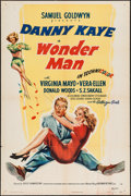 "Movie Posters:Musical, Wonder Man (RKO, 1945). One Sheet (27"" X 41"") Style A. Musical.. ..."