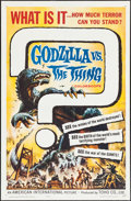 "Movie Posters:Science Fiction, Godzilla vs. the Thing (American International, 1964). One Sheet(27"" X 41""). Science Fiction.. ..."