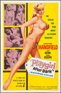 """Playgirl After Dark (Topaz, 1961). One Sheet (27"""" X 41"""") Style A. Sexploitation"""