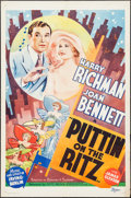 "Movie Posters, Puttin' on the Ritz (Art Cinema, R-1937). One Sheet (27"" X 41"").. ..."