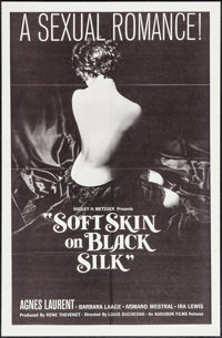 """Soft Skin on Black Silk & Other Lot (Audubon, 1963). One Sheet and Military One Sheet (27"""" X 41""""). Sex..."""