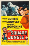 """Movie Posters:Sports, The Square Jungle (Universal International, 1955). One Sheet (27"""" X 41""""). Sports.. ..."""