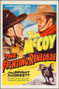 "Movie Posters:Western, The Fighting Renegade (Victory, 1939). One Sheet (27"" X 41"").Western.. ..."