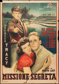 "Movie Posters:War, Thirty Seconds Over Tokyo (MGM, 1945). Italian 2 - Foglio (39"" X55""). War.. ..."