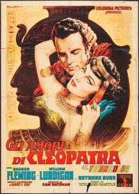 "Serpent of the Nile (Columbia, 1953). Italian 2 - Foglio (39"" X 55""). Drama"