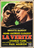 "Movie Posters:Foreign, The Truth (Columbia, 1960). Italian 2 - Foglio (39.25"" X 55""). Foreign.. ..."