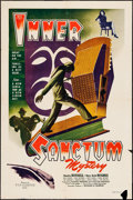 "Movie Posters:Mystery, Inner Sanctum (Film Classics, Inc., 1948). One Sheet (27"" X 41"").Mystery.. ..."