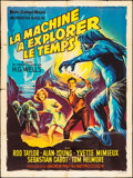 "Movie Posters:Science Fiction, The Time Machine (MGM, 1960). French Grande (47"" X 63""). ScienceFiction.. ..."