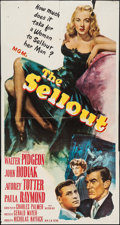 "Movie Posters:Crime, The Sellout (MGM, 1952). Three Sheet (41"" X 79""). Crime.. ..."