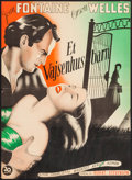 "Movie Posters:Romance, Jane Eyre (20th Century Fox, 1944). Danish Poster (24"" X 33.25""). Romance.. ..."